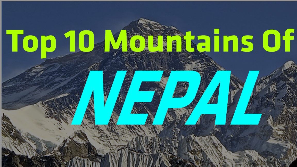 top 10 mountains of nepal